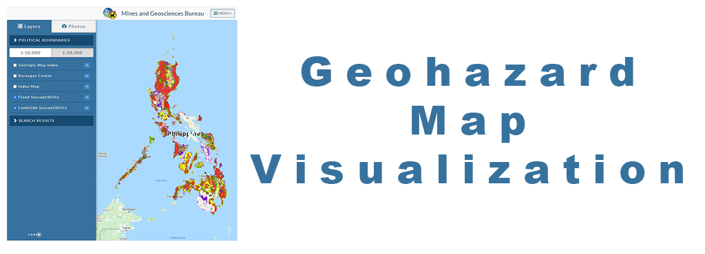 Geohazard map visualization